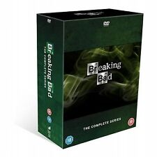 Breaking Bad - Series 1-5 - Complete (DVD, 2013, Box Set - Metal Case)