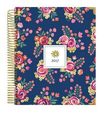 bloom daily planners 2017 Calendar Year Hard Cover Vision Planner-Vintage Floral