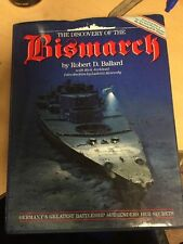 The Discovery of the Bismarck by Robert D. Ballard HC Hardcover FREE Shipping!