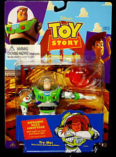 Toy Story Movie Infrared Buzz with Light up Dome Action Figure Thinkway New 1995