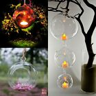 New Crystal Glass Hanging Candle Holder Candlestick Romantic Wedding Home Decor