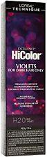 L'Oreal Technique HiColor Permanent Hair Color (H20 Red Violet) 1.74 oz