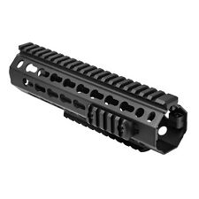 NCSTAR VMARKMM DROP IN BATTLE RAIL MID LENGTH RIFLE KEYMOD HANDGUARD SYSTEM 8.5""