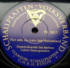 0684/ NUN ADE,MEIN LIEB HEIMATLAND-Das Leben bringt groß Freud-Marsch-Schellack