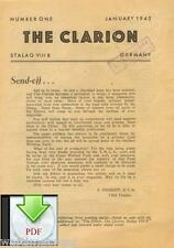 CD File 3 POW Newspapers in English The Clarion 1943 - 1944 Stalag 344 VIIIB
