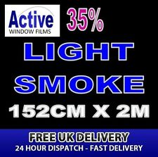 152cm x 2m - 35% Tint Light Smoke Car Window Tint Film Roll - Pro Quality