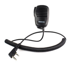 RETEVIS 2 PIN Mini PTT Speaker MIC für KENWOOD PUXING WOUXUN TYT BAOFENG Radio