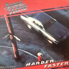 "April Wine Harder Faster 12"" 33rpm LP vinyl record (vg)"