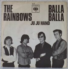 "The RAINBOWS Balla balla / Ju ju hand (LISTEN) 7"" 1965 German beat"