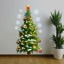 NEW Large Christmas Tree Wall Stickers Window Decal Mural Home Decor Removable