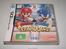 Mario and Sonic at the Olympic Games Nintendo DS 2DS 3DS Game Preloved *Complete