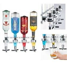 Mounted Liquor Dispenser Bottle Beverage Bar Wall Alcohol Cocktail Wine Beer 4