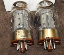 AMAZING MATCHED PAIR TUNG-SOL 6550 / KT88 VINTAGE TUBES COPPER PLATES 3 MICA'S
