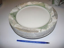 12 Dinner Plate  Corelle TEXTURED LEAVES EXC