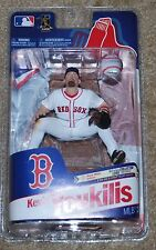 MCFARLANE TOYS MLB BOSTON RED SOX KEVIN YOUKILIS VARIANT FIGURE 1901 OF 2000