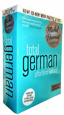 Total German: (Learn German With the Michel Thomas Method) Audio CD