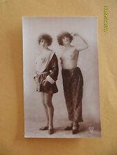 Original French 1910's-1920's Nude Risque Lady Twin Beauties Lesbians (#18)