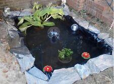 Backyard Pond Kit In Ground Water Liner Fish Garden Zen Koi Pool Patio Small