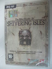 PC ELDER SCROLL OBLIVION : SHIVERING ISLE DATA DISK VERY RARE