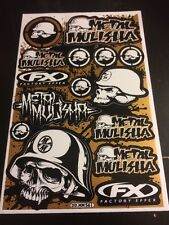 Stickers Decals Precut ATV MX RC Losi Traxxas  HPI Ofna Off Road Street DDMM561