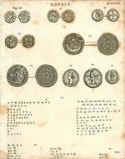 1802  Medals Coins Penny William Of Scotland Robert The Great Irish Henry Iii Co