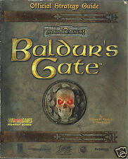 Baldur's Gate Official Strategy Guide by BradyGames Staff (1998, Paperback Book)