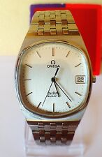 Omega Quartz DeVille watch with a date