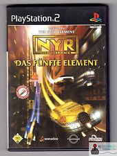 ★ Playstation PS2 Spiel - Das Fünfte Element NYR New York Race - in OVP ★