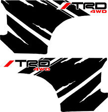 TOYOTA TACOMA TRD 4WD STRIPES GRAPHICS DECALS VINYL SAFARI