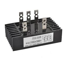 uxcell SQL100A1000V 5 Terminals Three Phase Power Bridge Rectifier Diode Module 100A 1000V