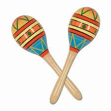 Fiesta Fun Party Maracas Party Accessory (1 count) (2/Pkg) , New, Free Shipping
