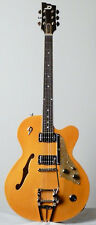 Duesenberg CC Model Hollobody Guitar in Trans Orange - New w/ HSC!