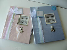 First Impressions Pink Baby Girls Memories Book with Picture Frame NWD