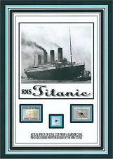 COAL actually from the TITANIC w/COA genuine 1912 sinking RMS White Star Line
