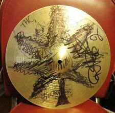 TEXAS HIPPIE COALITION ~ THC~ SIGNED Paiste Cymbal Big DAD Rich John Timmy Cord