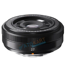 Brand New Fujinon XF 27mm f/2.8 Black Lens