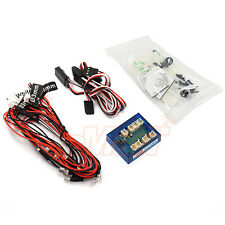 Slidelogy 12 LED RC Car 2.0 LED System Flashing Head Light Drift 1:10 #SDY-0070