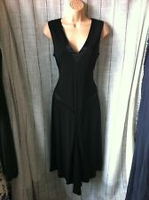 TED BAKER BLACK COCKTAIL DRESS TUNIC SIZE 3 UK 12 VGC PARTY COCKTAIL