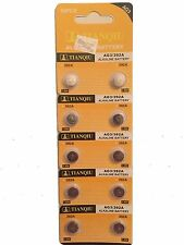 10X AG3 L736 RW87 LR41 GP192 V3GA Alkaline Battery Cell Button Batteries