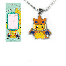 Tascabile Monster Pokemon Pikachu Collana Cosplay Charizard Anime Ciondolo