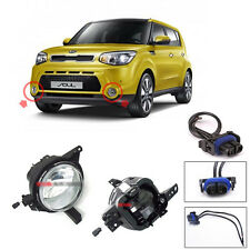 Genuine OEM Fog Lamp Lights Assembly with Conector 4p For 2014-2016 Kia Soul
