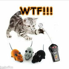 Hot Remote Control RC Wireless Rat Mouse Cat Toy For Super Cat Cat Mouse Toy Fun