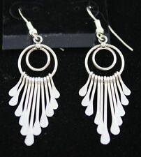 Navajo Indian Earrings Dangles Sterling Silver Pamela Armstrong