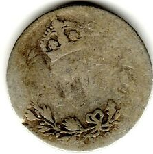 1890 6d Silver SIXPENCE six pence Queen Victoria Jubilee Head (a)