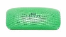LACOSTE New GREEN Sunglasses HARD CASE Clamshell Authentic Designer