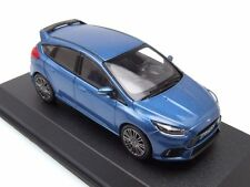 NOREV - 270544 FORD FOCUS RS 2016 BLUE METALLIC COLOUR 5 DOOR 1:43 SCALE.