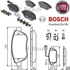 KIT PASTIGLIE PATTINI FRENO BOSCH FIAT MULTIPLA 1.6 1600 BENZINA E METANO FERODI