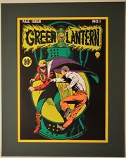 GREEN LANTERN #1 Alan Scott COVER PRINT PROFESSIONALLY MATTED DC