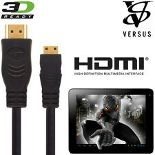 Pavé Tactile Versus 7, 9,7, 10 Tablette Android Mini HDMI à HDMI TV cordon câble 5m