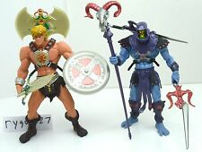 MOTU, Skeletor & He-Man 200x, complete, figure, Masters of the Universe